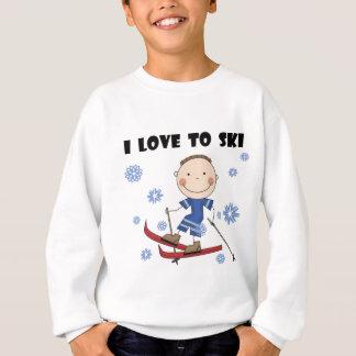 Love to Ski - Boy Tshirts and Gifts