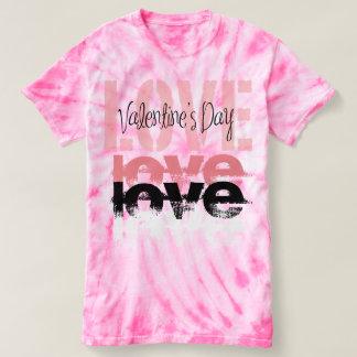 """Love"" Valentine's Women's Cyclone Tie-Dye Shirt"