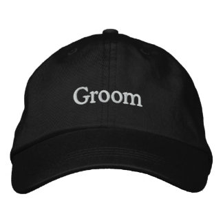 LOVE Wedding Groom Embroidered Hat