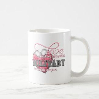 Love will keep us together coffee mug