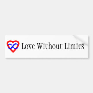 Love Without Limits Bumper Sticker
