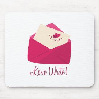 Love Write Mousepads