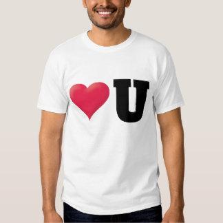 Love You2 Black Tshirt