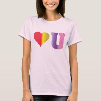 Love You2 Rainbow2 T-Shirt