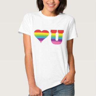 Love You2 Rainbow T Shirt