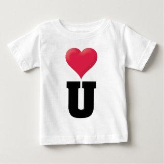 Love You Black Tshirt