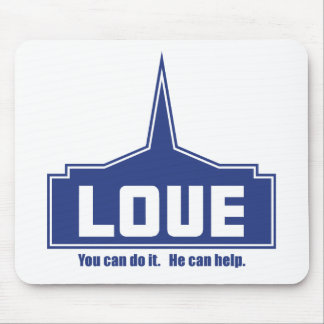 Love: You can do it Mouse Pad