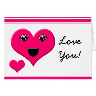 Love you! greeting card