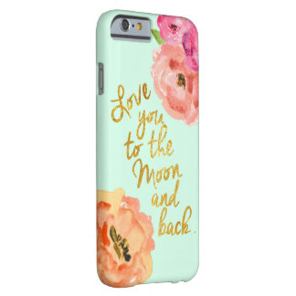 Love You To the Moon and Back Floral Phone Case
