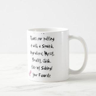 Love Your Favorite! Mom Mug