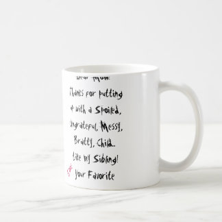 Love, Your Favourite! Mum Mug