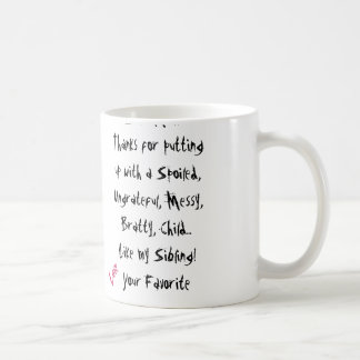 Love Your Favourite! Mum Mug