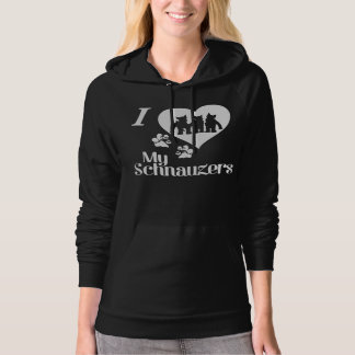 Love Your Multiple Schnauzer Family? Hoodie
