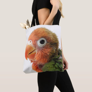 Lovebird Chick | Agapornis papillero Tote Bag