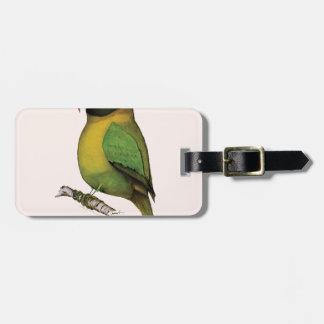 lovebird, tony fernandes luggage tag