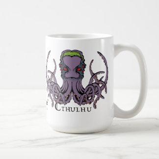 Lovecraftian Flair Mug: Cthulhu 2 Color Ink Coffee Mug