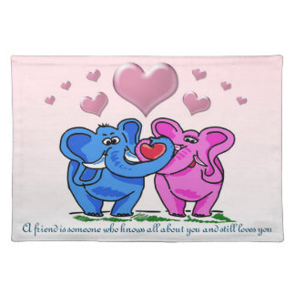 Loved Anyway cloth placemat