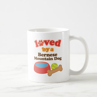 Loved By A Bernese Mountain Dog (Dog Breed) Coffee Mug