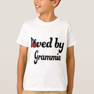 Loved By Grammie Gift T-Shirt