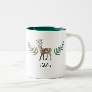 Loved Dearly Two-Tone Coffee Mug