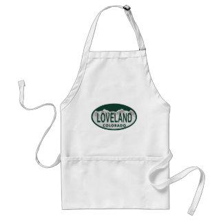 Loveland license oval standard apron