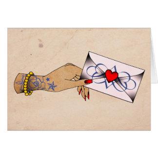 Loveletter Greeting Card