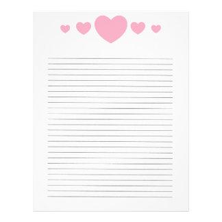 loveletter personalised letterhead