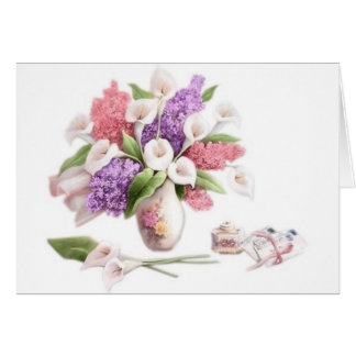 LoveLetters & Lilacs Greeting Card