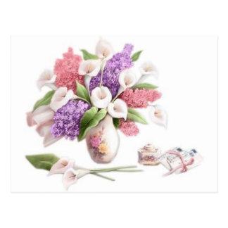 LoveLetters & Lilacs Postcard