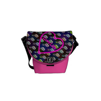 LoveLife Rickshaw Mini Zero Messenger Bag