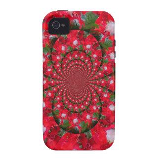 Lovely Alien Crimson iPhone 4 Covers