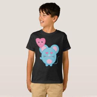 Lovely Bubbles Blue Pink Smile Cute Kids T-Shirt