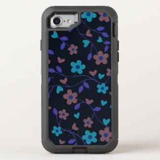 lovely floral 415D (I) OtterBox Defender iPhone 8/7 Case