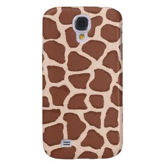 Lovely giraffe pattern galaxy s4 cover