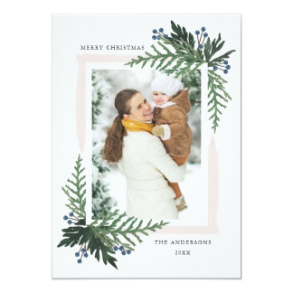 Lovely Holiday - Christmas photo card