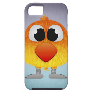 Lovely Little Orange And Yellow Bird iPhone 5 Cases