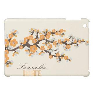 Lovely Orange Cherry Blossom  iPad Mini Cases
