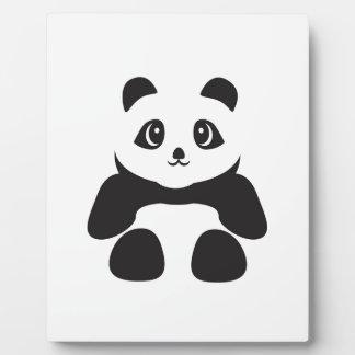 Lovely Panda bear Plaque