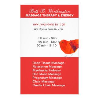 Lovely Red Little Bird  Business Full Color Flyer