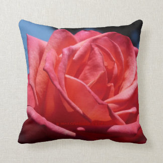 Lovely Red Roses Décor by Grassrootsdesigns4u Throw Pillows