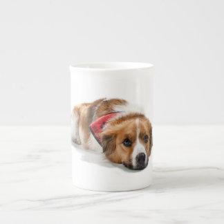 lovely shepherd bone china mug