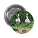 Lovely Stork 6 Cm Round Badge