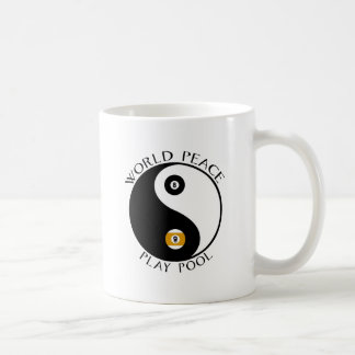 LovePeaceWhite Basic White Mug
