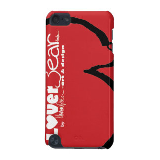 LoverBear by MARTINfree--iPod Touch, swoosh red iPod Touch 5G Case