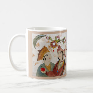 Lovers and the apple basic white mug