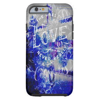 Lover's Dreams Bridge to the Ones that Love Us Tough iPhone 6 Case