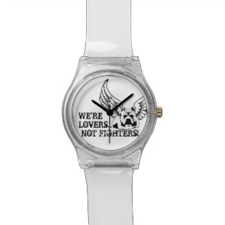 Lovers Not Fighters Stylish Watch - Great Gift