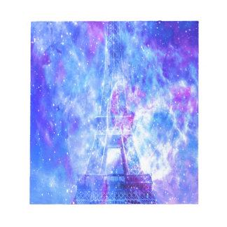 Lover's Parisian Dreams Notepad