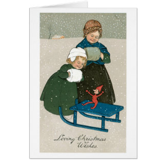 Loving Christmas Wishes Greeting Card
