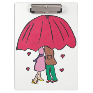 Loving Couple Clipboard